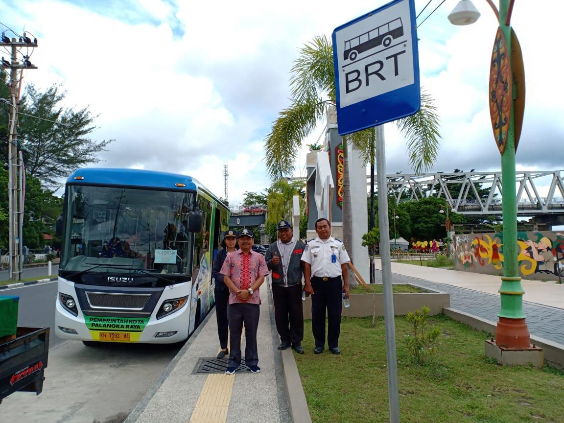 Bus Rapid Transit Mulai Operasional Layani Masyarakat Pemerintah Kota Palangka Raya